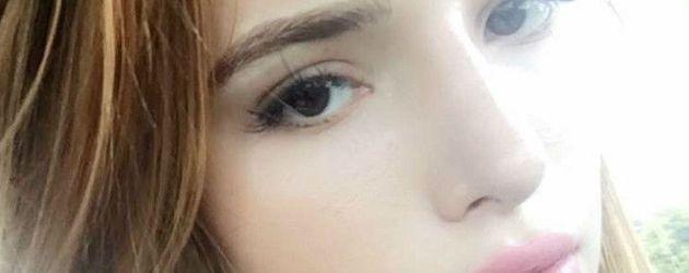 Bella Thorne präsentiert ihre tätowierten Augenbrauen