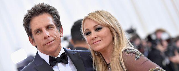 Ben Stiller mit Christine Taylor