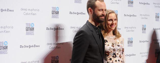 Benjamin Millepied und Natalie Portman bei den 26. Annual Gotham Independent Film Awards in New York