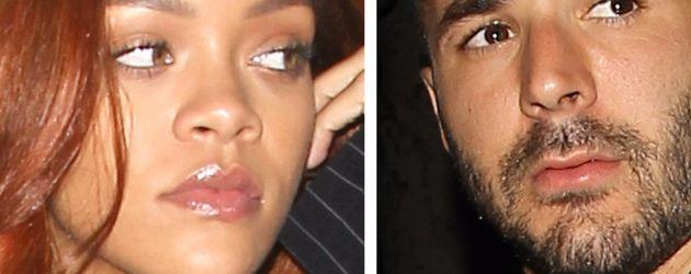 Rihanna und Karim Benzema