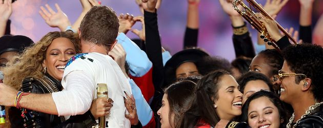 Beyonce und Chris Martin