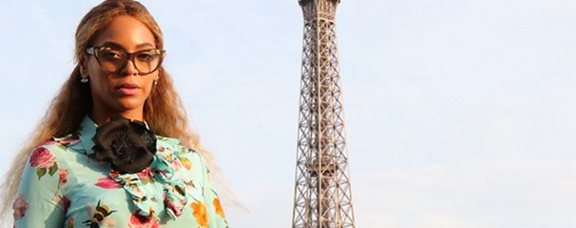 Beyoncé und Tochter Blue Ivy Carter in Paris