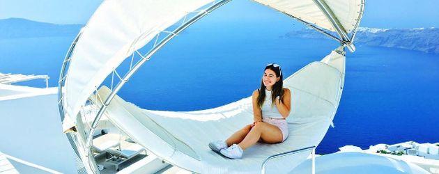 Bibi Heinickes Griechenland-Urlaub