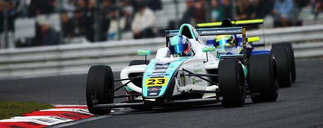 Billy Monger bei den F4 British Championships im April 2017