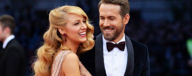 Blake Lively und Ryan Reynolds bei der MET-Gala in New York