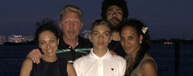 Lilly Becker, Boris Becker, Barbara Becker, Noah Becker und Elias Becker