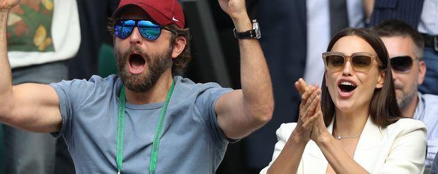 Bradley Cooper und Irina Shayk in Wimbledon 2016