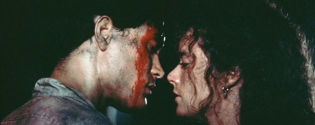 "Brandon Lee und Kate Hodge in ""Rapid Fire"" (1992)"