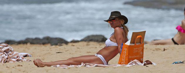 Britney Spears im Hawaii-Urlaub 2016