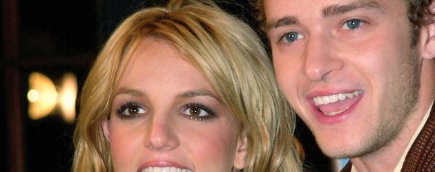 Britney Spears und Justin Timberlake 2001 in New York