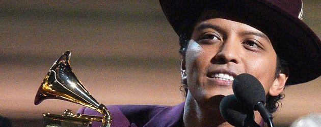 Bruno Mars bei den Grammy Awards