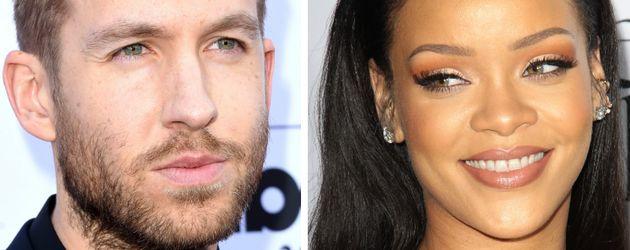 Calvin Harris und Rihanna
