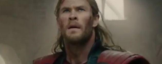 Chris Hemsworth, Chris Evans und Scarlett Johansson