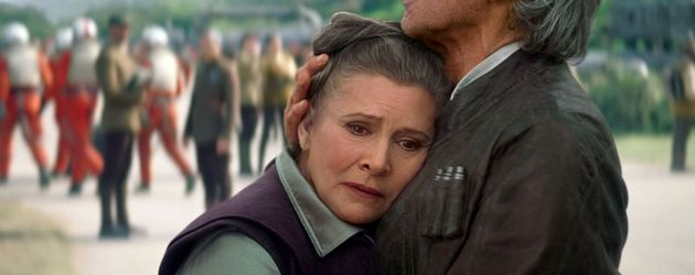 """Carrie Fisher als Prinzessin Leia in """"Star Wars – Episode VII"""""""