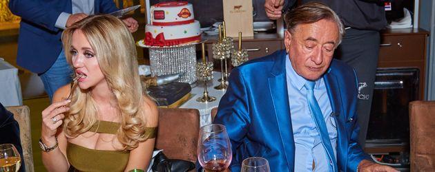 Cathy Lugner und Richard Lugner auf seinem 84. Geburtstag in Wien