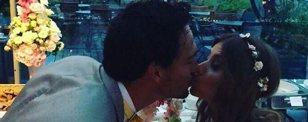 Cathy und Mats Hummels, 1. Hochzeitstag