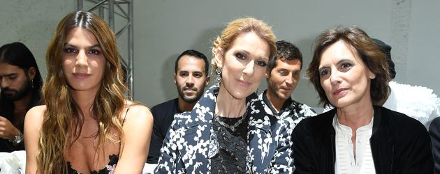 Céline Dion bei der Fashion Week in Paris