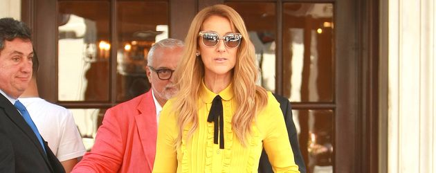 Celine Dion in New York City