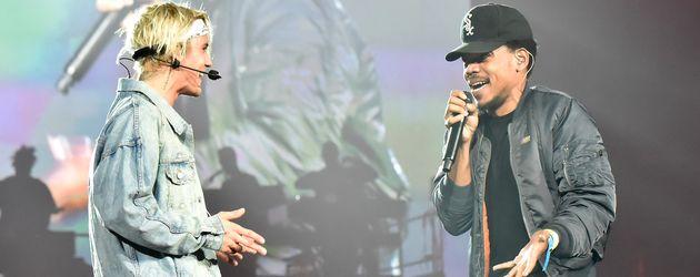 Justin Bieber und Chance the Rapper