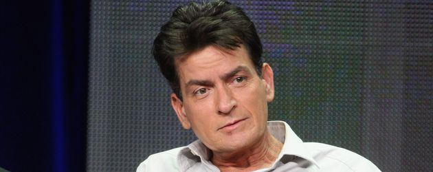 Charlie Sheen in Beverly Hills 2012
