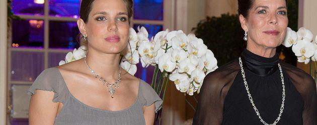 Charlotte Casiraghi und Caroline von Monaco