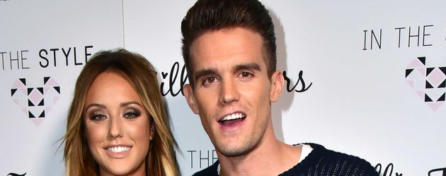 Charlotte Crosby und Gary Beadle bei Launch Party in London