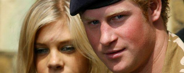 Chelsea Davy und Prinz Harry im Mai 2008
