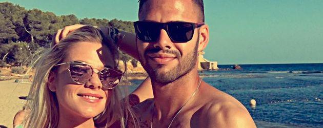 Cheyenne Pahde und Daniel Engelbrecht auf Ibiza