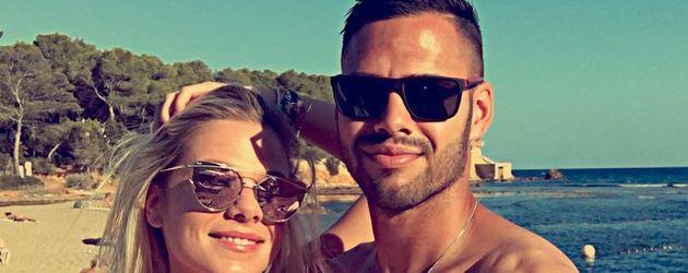 Cheyenne Pahde und Daniel Engelbrecht im Urlaub auf Formentera
