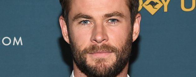 Chris Hemsworth bei der Virtual Tour of Australia in New York 2017