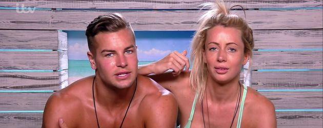 "Chris Hughes und Olivia Attwood, ""Love Island""-Kandidaten"