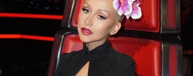 "Christina Aguilera als Jury-Mitglied bei ""The Voice"""