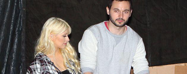 Christina Aguilera und Max Bratman