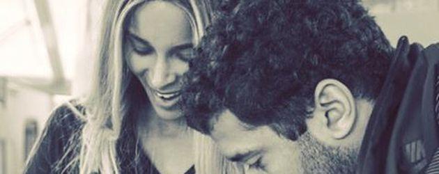 Ciara mit ihrem Sohn Future Zahir und ihrem Mann Russel Wilson 2017