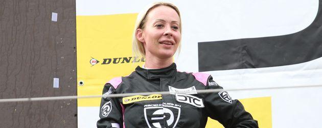 Cora Schumacher auf dem zweiten Platz beim Deutschen Tourenwagen Cup in Spielberg