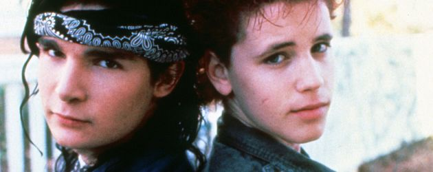"Corey Feldman und Corey Haim in ""Dream a Little Dream"" 1989"