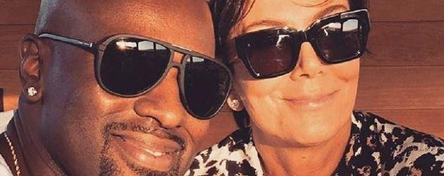 Corey Gamble und Kris Jenner