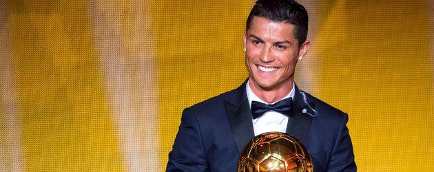 Cristiano Ronaldo beim FIFA Ballon d'Or Gala 2014 in Zürich