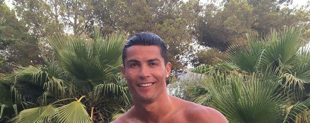Cristiano Ronaldo im Urlaub nach der EM 2016