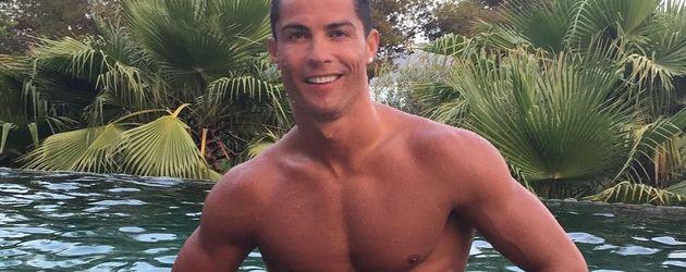 Cristiano Ronaldo im Urlaub
