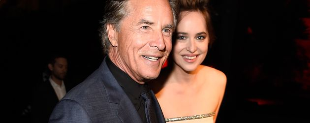 Dakota Johnson und Don Johnson