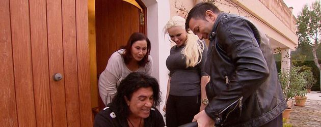 Lucas Cordalis, Daniela Katzenberger und Costa Cordalis