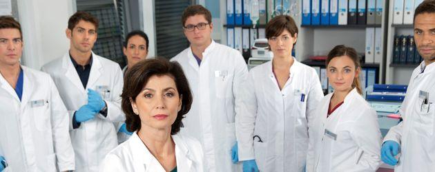 Philipp Danne, Marijam Agischewa, Paula Schramm und Roy Peter Link