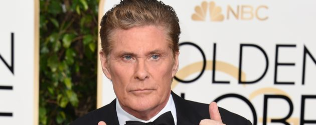 David Hasselhoff im Januar 2010 bei den Golden Globes in Los Angeles