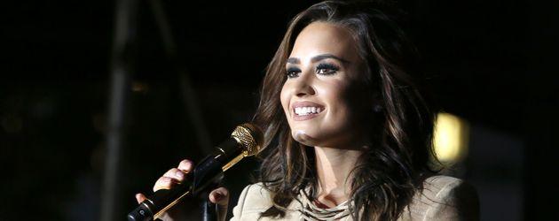 Demi Lovato auf der Bühne in Los Angeles