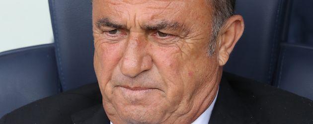 Der türkische Fußball-Nationaltrainer Fatih Terim