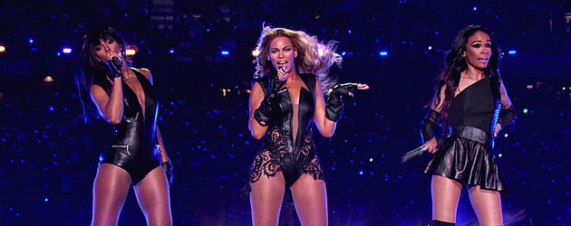 Destiny's Child in der Superbowl-Halbzeit