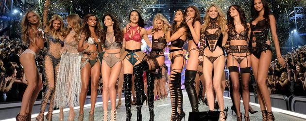Die Engel von Victoria's Secret bei der Fashion Show