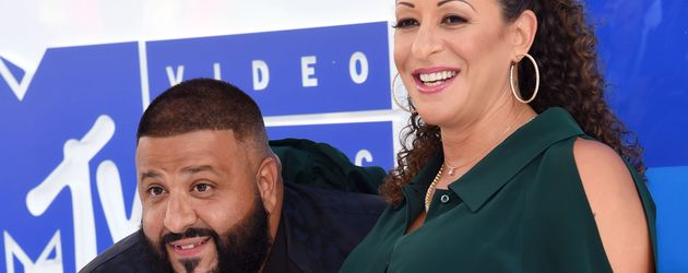 DJ Khaled and Nicole Tuck bei den MTV VMAs 2016