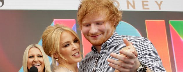 Kylie Minogue und Ed Sheeran